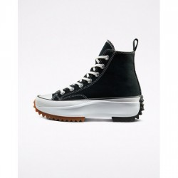Converse Black Concrete Heat Run Star Hike Unisex High Top Shoe