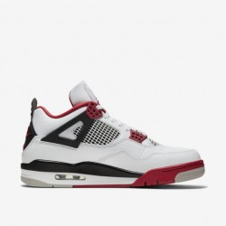 Nike Air Jordan 4 Fire Red Shoes