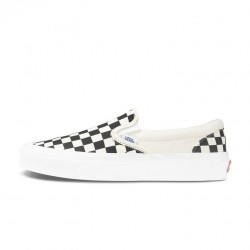 Vans Customs Checkerboard Rose Slip-on