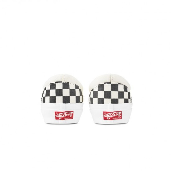 Vans Customs Checkerboard Rose Slip-on